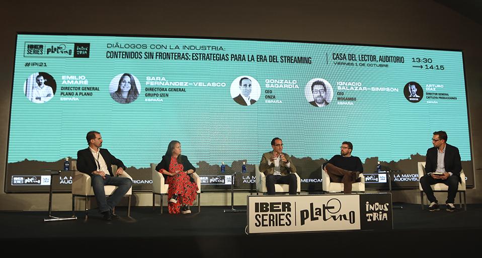 Sara Fernández-Velasco, CEO of iZen, participates in Iberseries Platino Industria