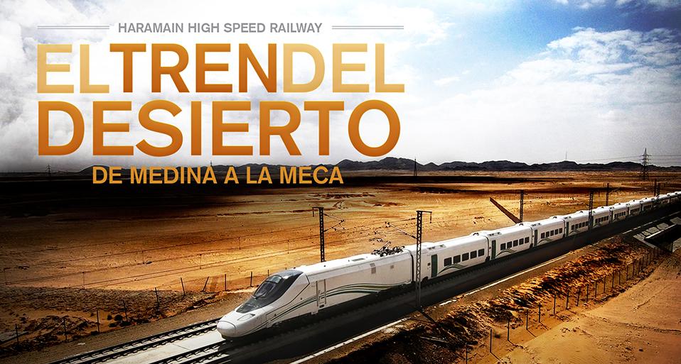 Zebra has produced the documentary 'Haramain, the desert train' for Amazon Prime Video and FlixOlé