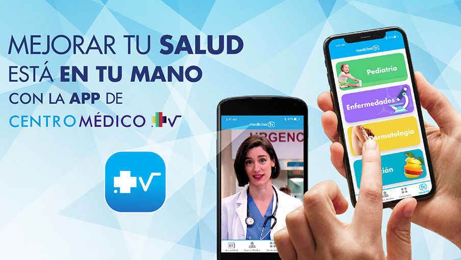 TVE, Zebra Producciones and Medicina TV create 'Centro Medico' app