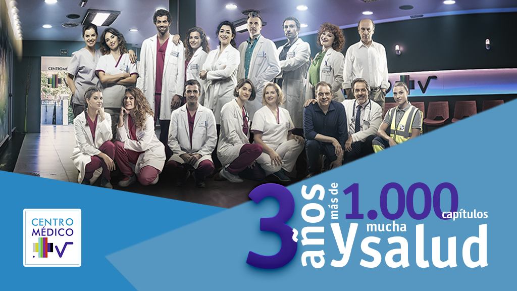 Centro medico: 3 years and more than 1000 episodes
